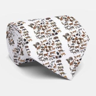 Animal of the world tie