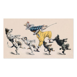 Animal or Dog Trainer, Clown, Dance Teacher Business Card