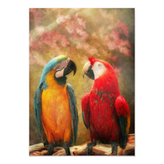 Animal - Parrot - We'll always have parrots Personalized Invite