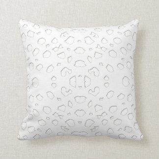 Animal Pattern#9 Unique Designer White Pillows