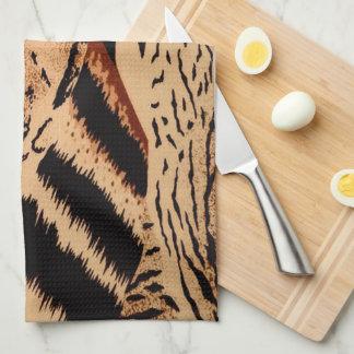 Animal Pattern Tea Towel