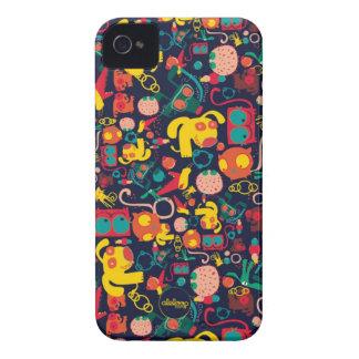 Animal Patterns Aleloop iPhone Case