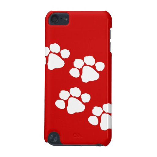 Animal Paw Prints iPod Touch (5th Generation) Cover