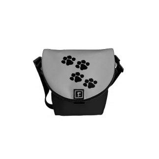 Animal Paw Prints Commuter Bag