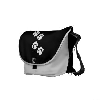 Animal Paw Prints Commuter Bags