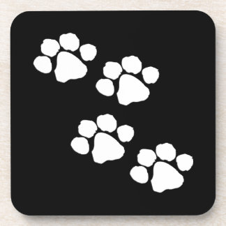 Animal Paw Prints Coaster