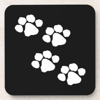 Animal Paw Prints Drink Coaster