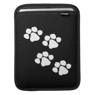 Animal Paw Prints iPad Sleeves