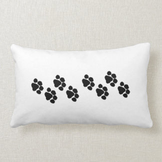 Animal Paw Prints Lumbar Cushion
