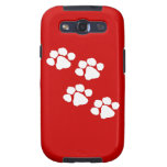 Animal Paw Prints Samsung Galaxy SIII Covers