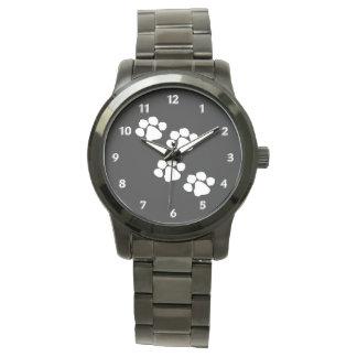 Animal Paw Prints Wristwatches