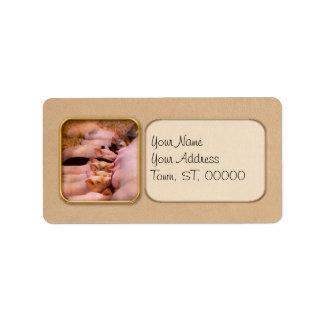 Animal - Pig - Comfort food Label