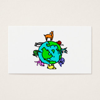 Animal Planet Business Card
