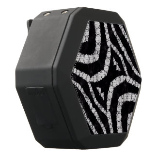 Animal Print Abstract Black Boombot Rex Bluetooth Speaker