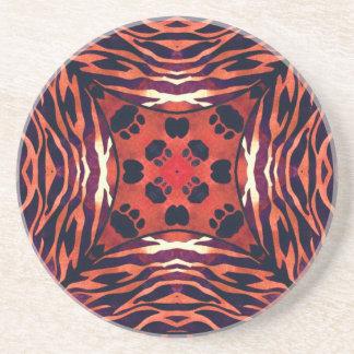 Animal Print Abstract Pattern Coaster