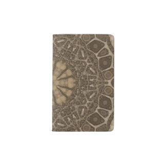 Animal Print Abstract Pocket Moleskine Notebook