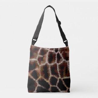 Animal Print Brown Crossbody Bag