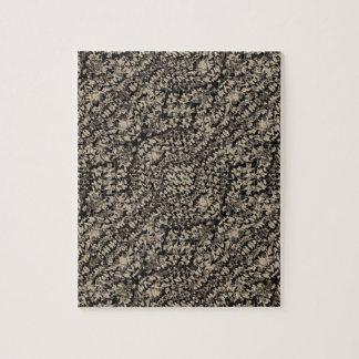 Animal Print Camo Pattern Jigsaw Puzzle