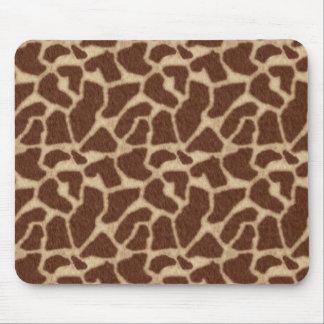 Animal Print Giraffe Mouse Pad