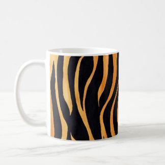 Animal Print Golden and Black Mug