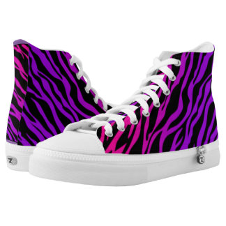 Animal Print High Top Shoes Printed Shoes