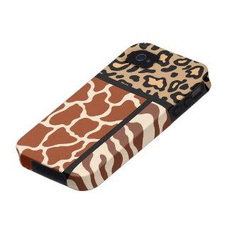 Animal Print iPhone 4 Case Mate Tough