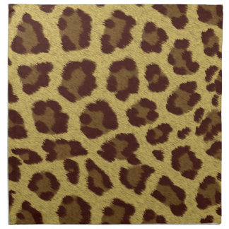Animal Print Leopard Napkin