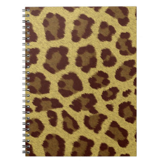 Animal Print Leopard Notebook