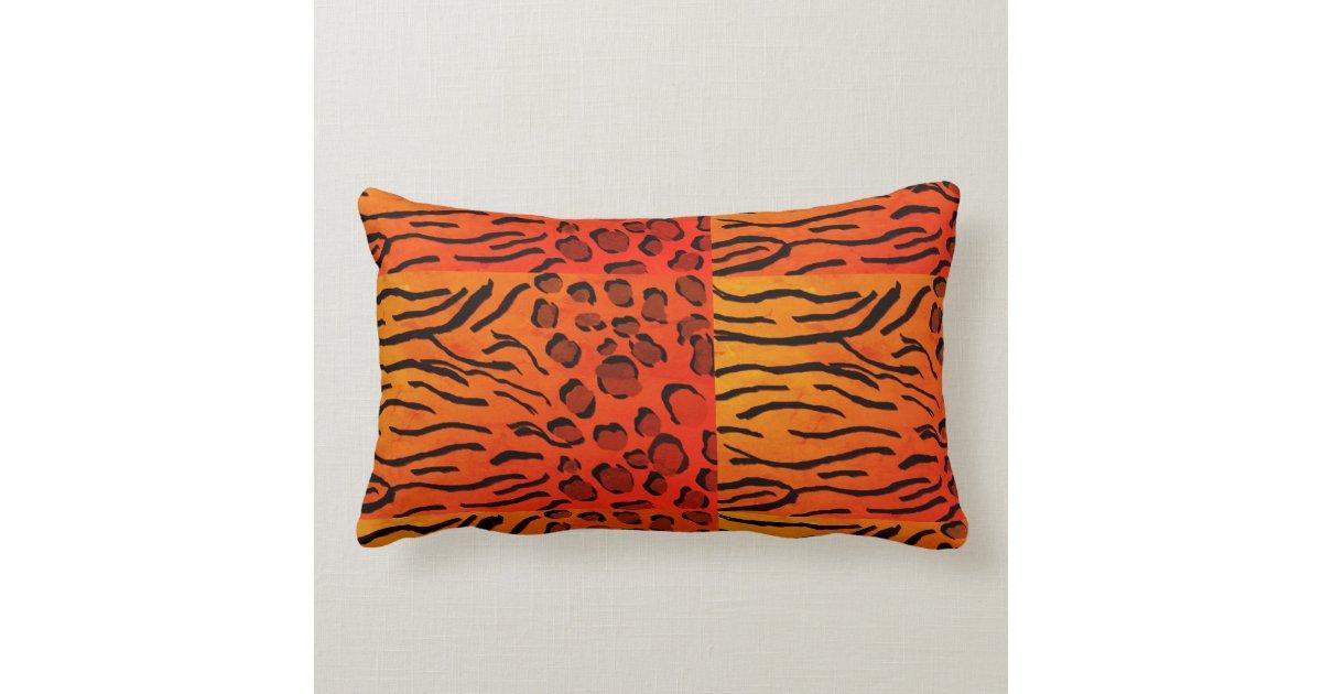 Animal Print Lumbar Pillows : Animal Print Lumbar Pillow Zazzle