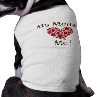 Animal Print Mommy Heart Me Shirt