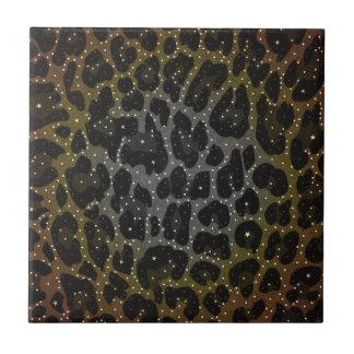 Animal Print Pattern Ceramic Tile