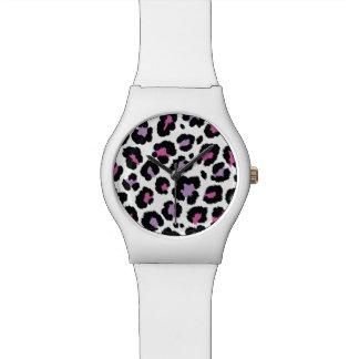 Animal Print Pattern Colorful Design Watch