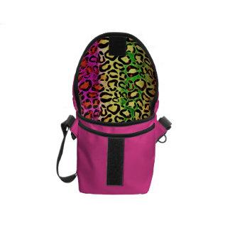 Animal Print Pattern Rickshaw Mini Messenger Bags