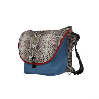 Animal Print Snakeskin Pattern Commuter Bags