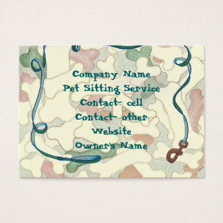 Animal Related Business Card