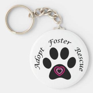 Animal Rescue Keychain