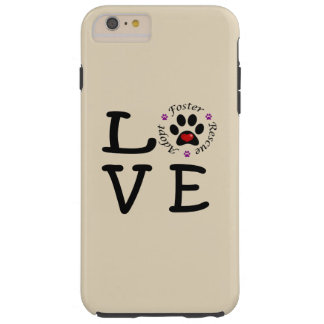 Animal Rescue Love iPhone 6/6s Plus Tough Case