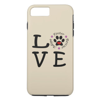 Animal Rescue Love iPhone 7 Plus Tough Case