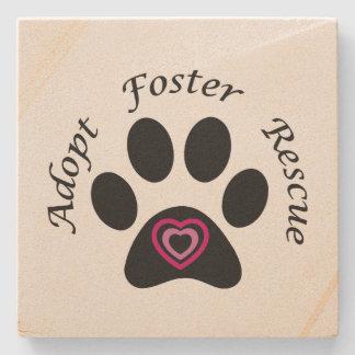 Animal Rescue Stone Coaster