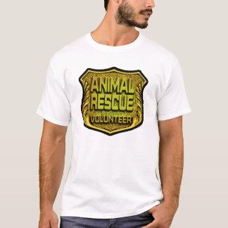 Animal Rescue Volunteer T Shirt