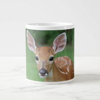 Animal Series Fawn in Grass on a Mug