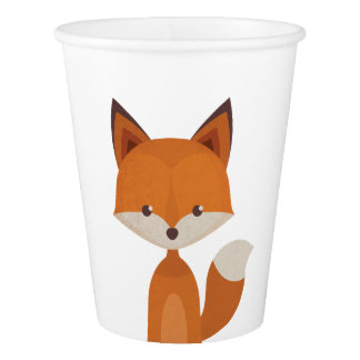 Animal set #3 paper cup