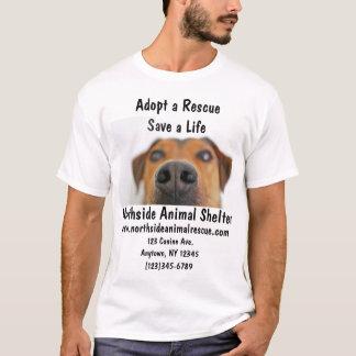 Animal Shelter Adopt A Pet Rescue Center Shirt