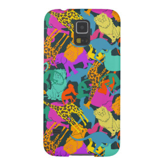 Animal Silhouettes Pattern Galaxy S5 Cover