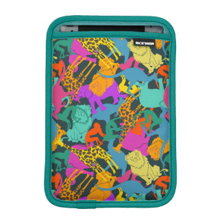 Animal Silhouettes Pattern iPad Mini Sleeves