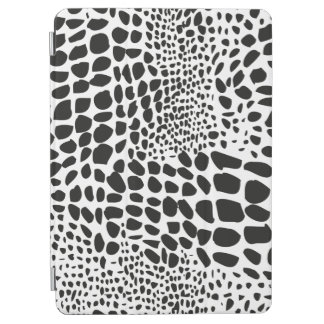 Animal Skin in Black and White iPad Air Cover