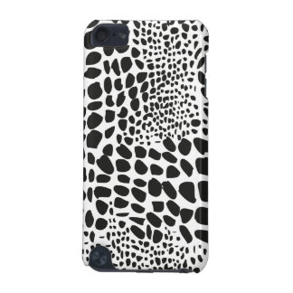 Animal Skin in Black and White iPod Touch (5th Generation) Case