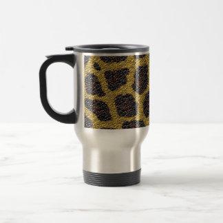 animal skin pattern and colors coffee mugs