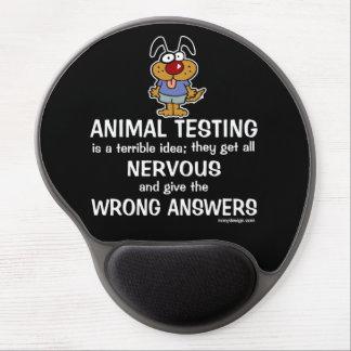 Animal Testing Humor Gel Mouse Pad