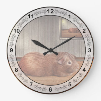 Animal - The guinea pig Wall Clocks